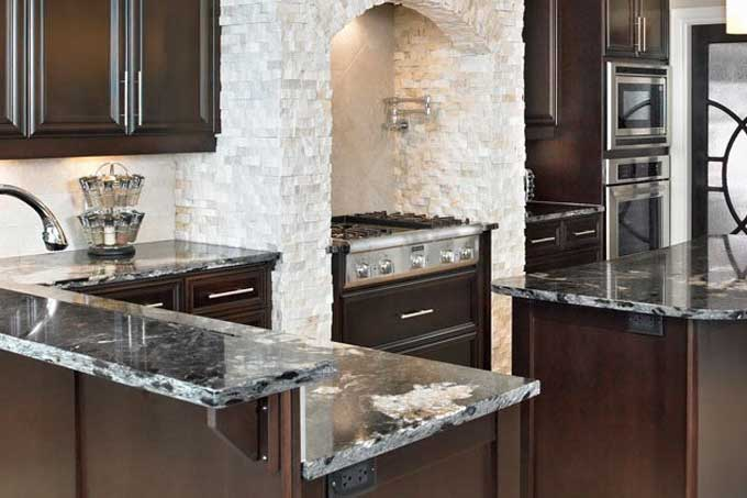 <b>Jetmist Granite Countertop</b>